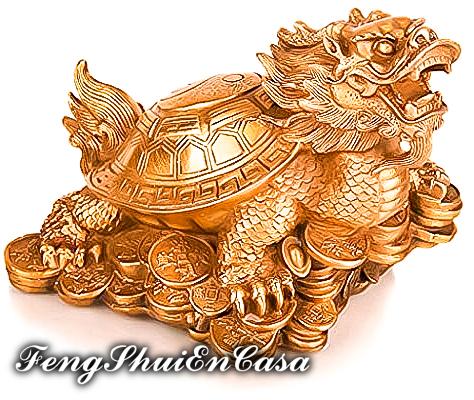 dragon con caparazon de tortuga feng shui comprar