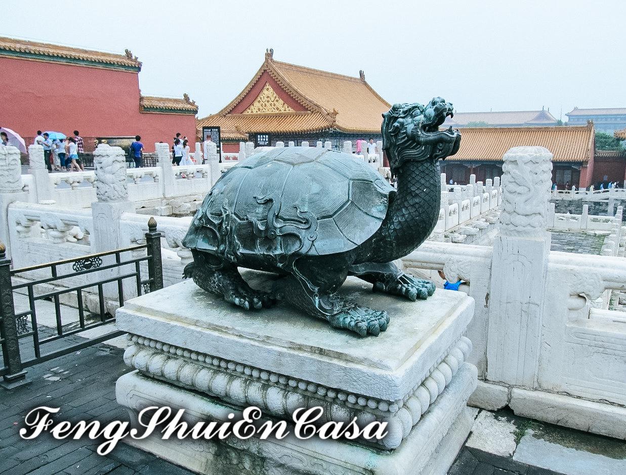 Dragón Tortuga Feng Shui significado y usos