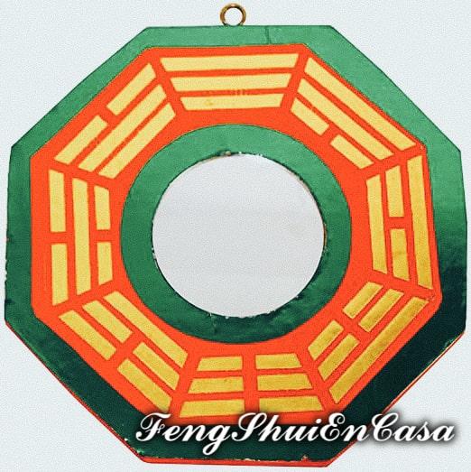espejo ba gua feng shui uso y significado