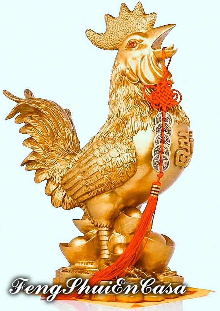 significado gallo feng shui