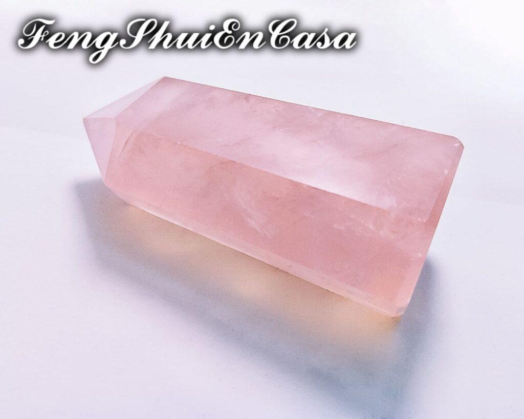 cuarzo rosa para el amor
